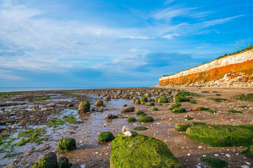 Hunstanton striped cliffs