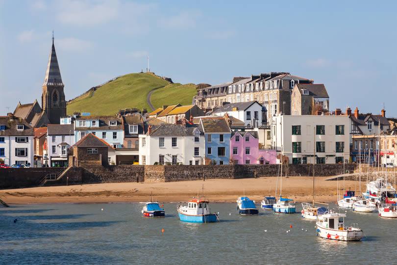 Ilfracombe seaside town in Devon