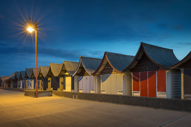 Mablethorpe beach huts
