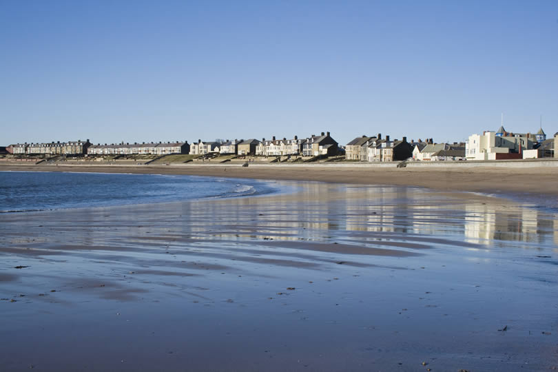 Newbiggin-by-the-Sea beach