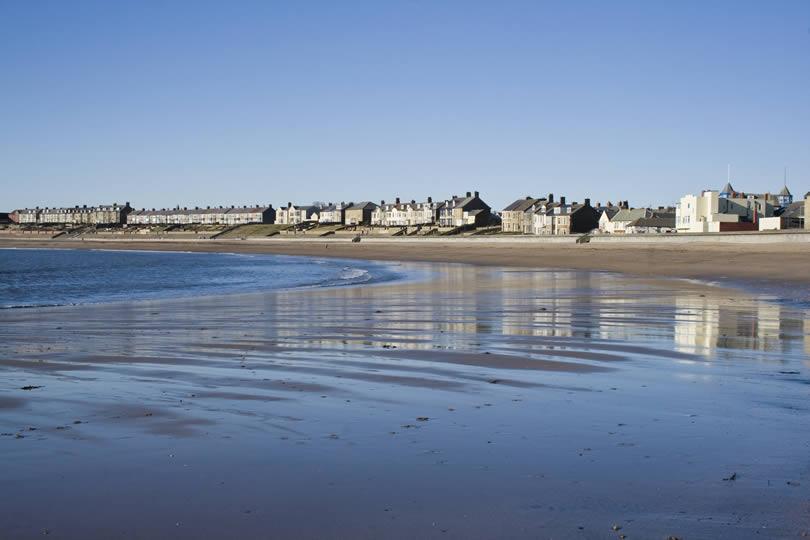 Newbiggin-by-the-Sea beach