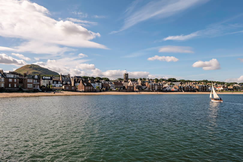 North Berwick seaside resort town