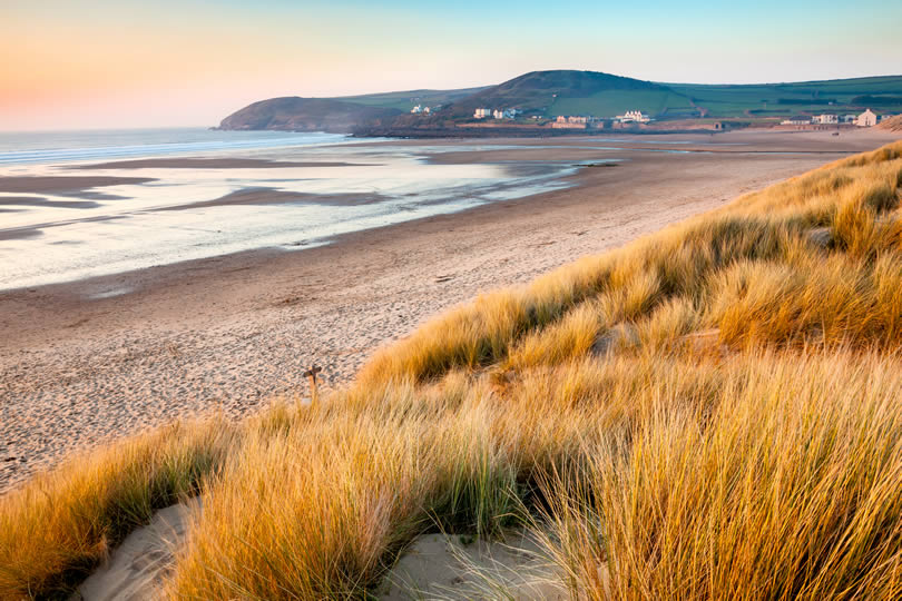 beach at Croyde on the North Devon Coast