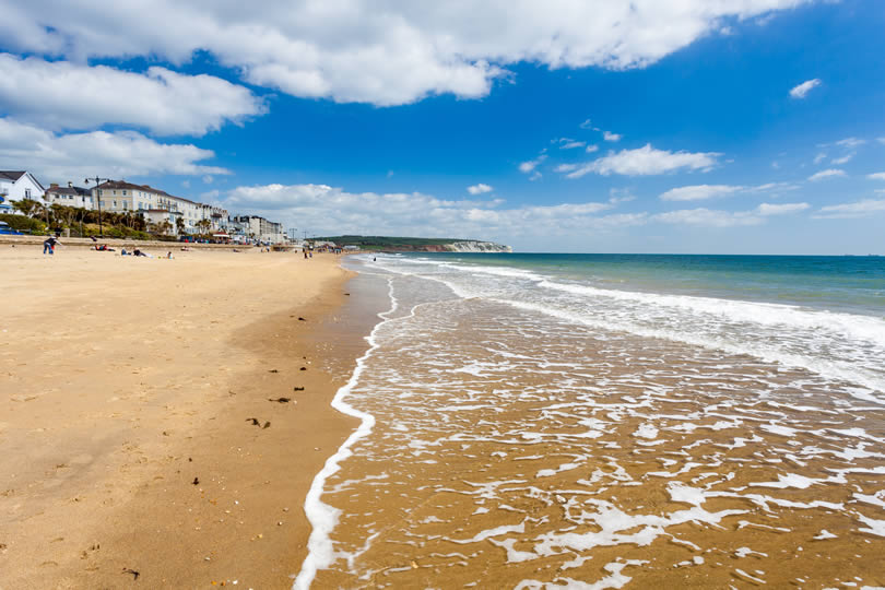 Lovely day at Sandown beach