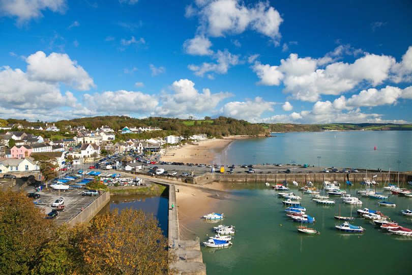 Harbour and village of Saundersfoot