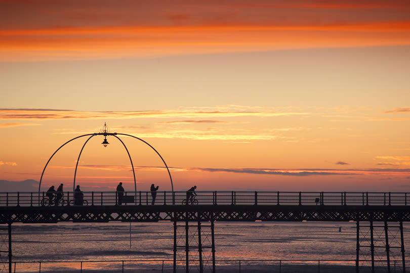 Southport Merseyside pier