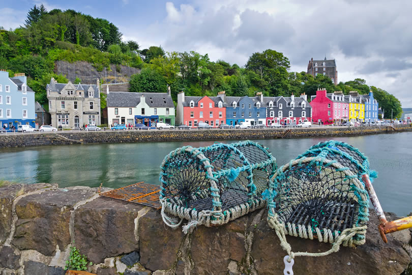 Tobermory fishing traps on the Isle of Mull