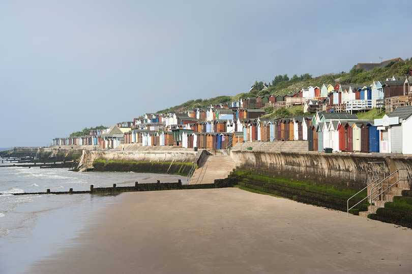Walton-on-the-Naze in Essex England