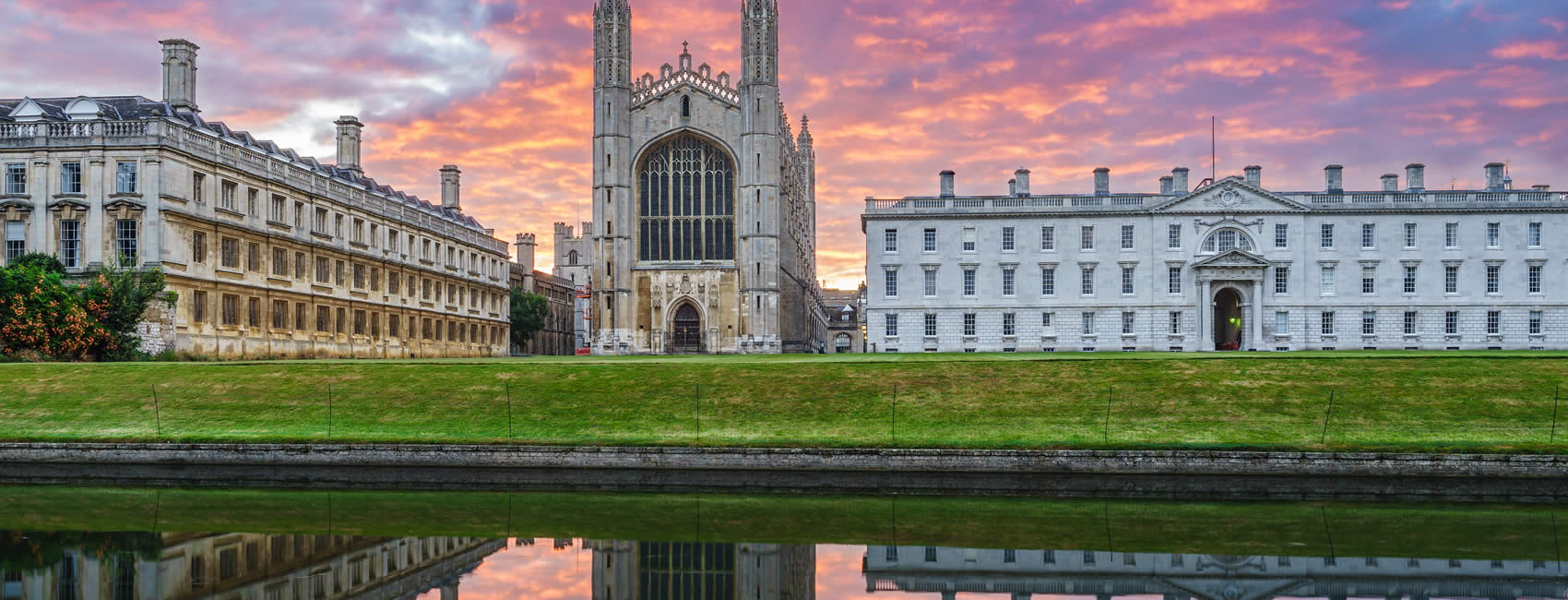 University grounds of Cambridge