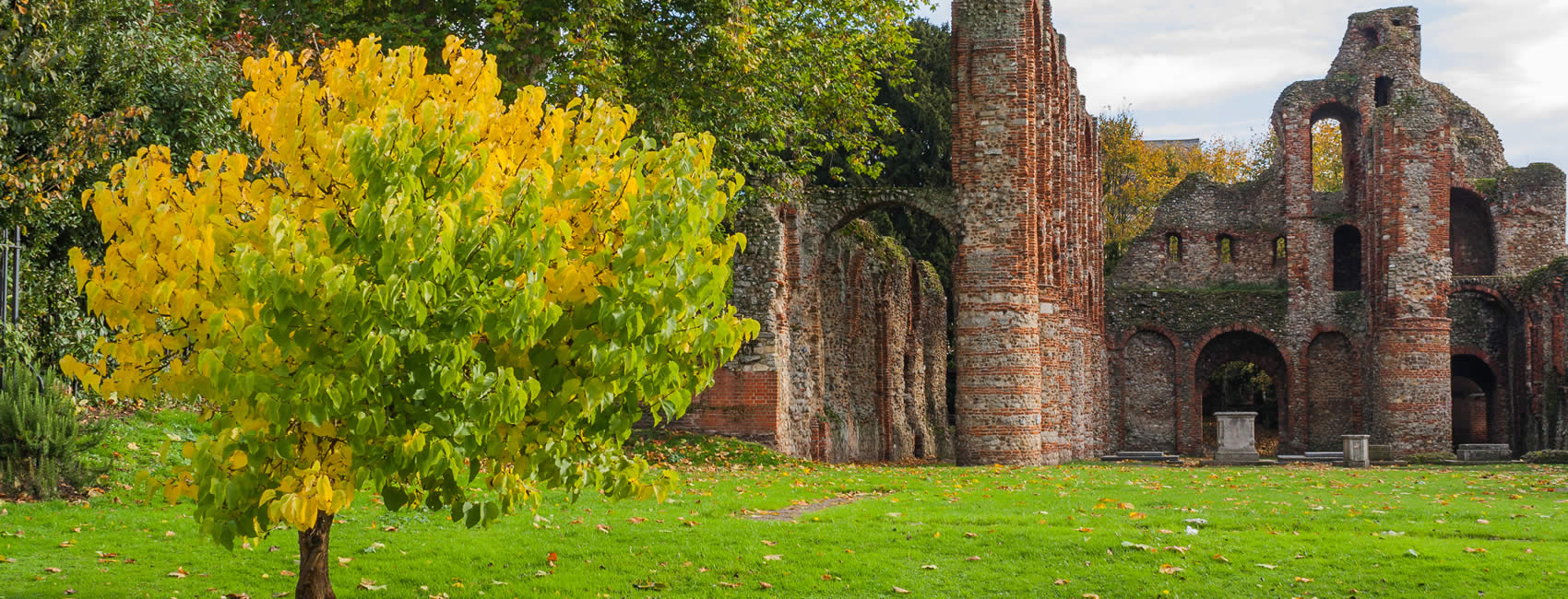 St. Botolph's Priory in Colchester Essex