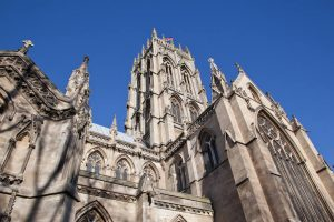 Cathedral in the city of Doncaster England