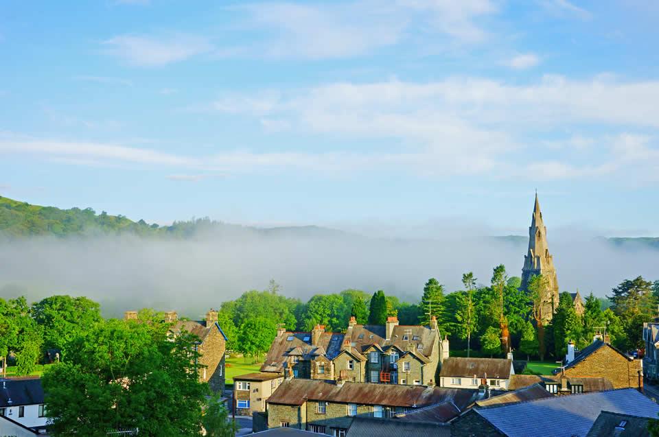 Ambleside Cumbria town centre