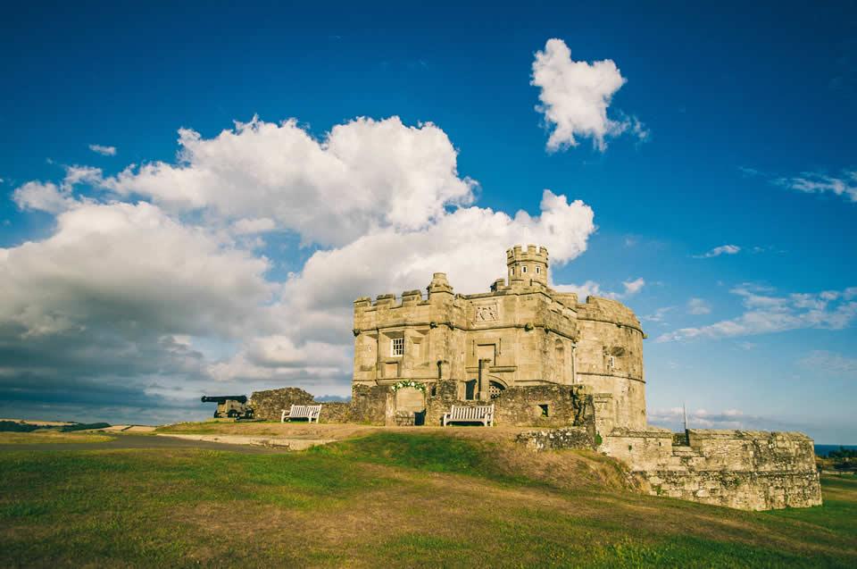Pendennis Castle near Falmouth