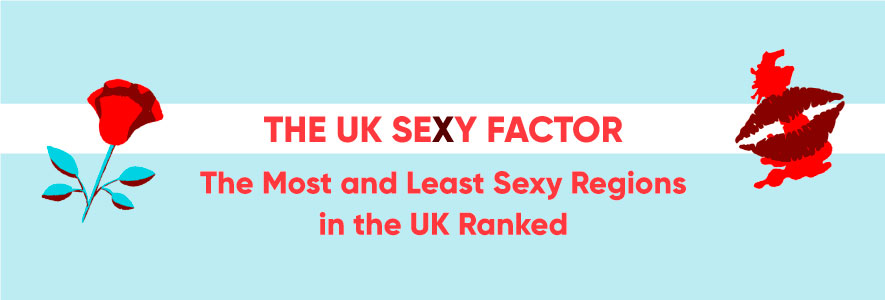 The UK sexy factor most and least sexy regions in the uk ranked