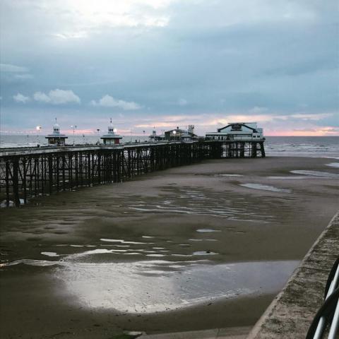 Blackpool in Lancashire England